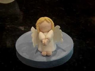 How to make a FONDANT ANGEL PART 3