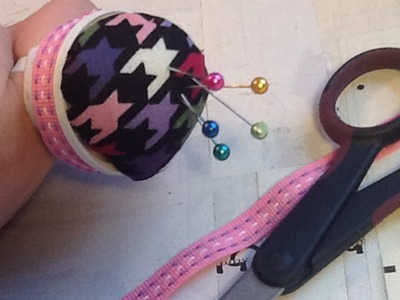 How To Make A Handy Pin Cushion Ring - DIY Crafts Tutorial - Guidecentral