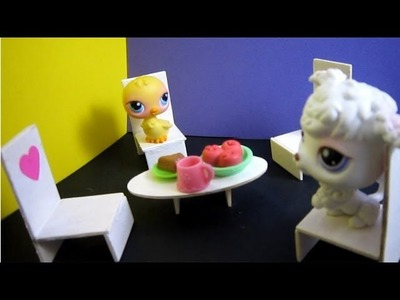 How to make a lounge chairs for your lps or your fashion doll - EP