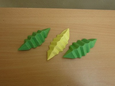 How to Make a Paper leaf - Easy Tutorials