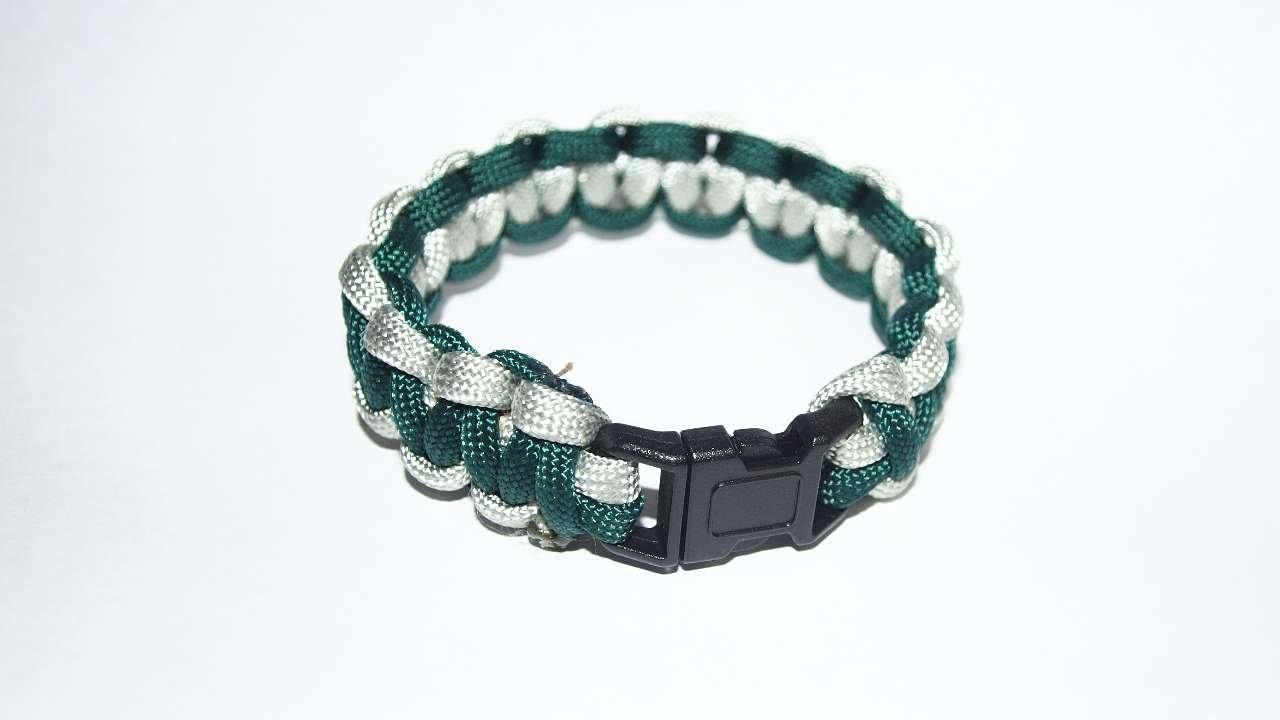 How To Make A Survival Paracord Bracelet - DIY Crafts Tutorial - Guidecentral