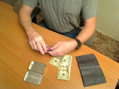 How to Make an Altoids Wallet