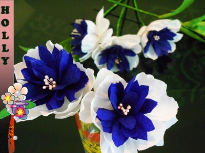 How To Make Paper Flowers Easy and Beautiful result
