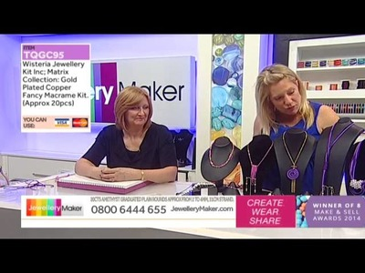 How To Make Polymer Clay Jewellery - JewelleryMaker LIVE (am) 22.03.2015