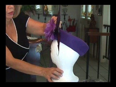 How To Turn A Plain Pill Box Hat Into A Stunning Designer Hat