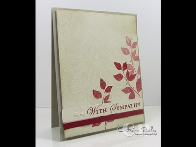 KISS Card - Easy Cards to Make - Sympathy Card