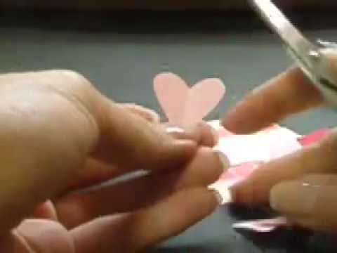 Ku-Ku CARD-Valentine's Day.3 hearts. Día de los Enamorados