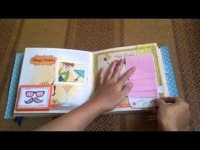 Làm Scrapbook made by me