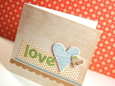Love - Make a Card Monday #129