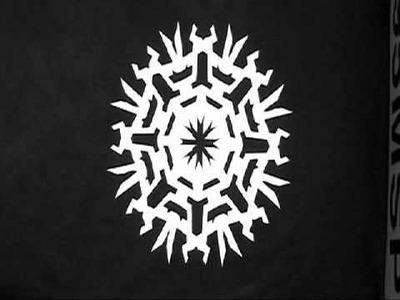 Make paper snowflakes!
