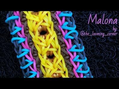 MALONA Rainbow Loom bracelet tutorial