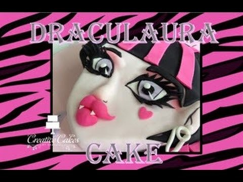 Monster High Cake Draculaura - (How to make)