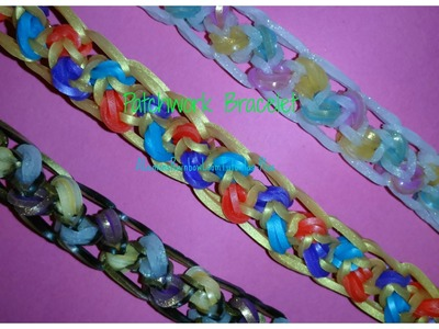 Monster Tail - Patchwork Bracelet | How To