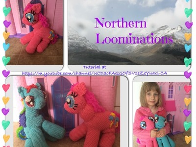 Northern Loominations Rainbow dash parts.