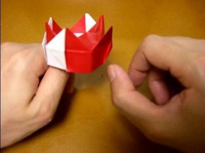 Origami kings crown