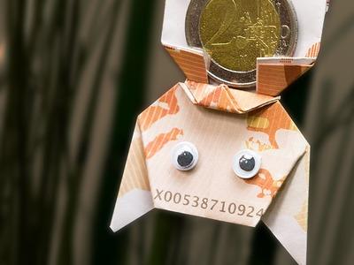 Origami Money Bat - How to make a paper money bat