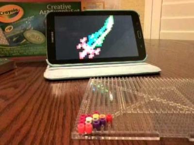 Perler beads-terra blade part1
