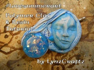 Polymer Clay & Resin can I bake it? #lovesummerart