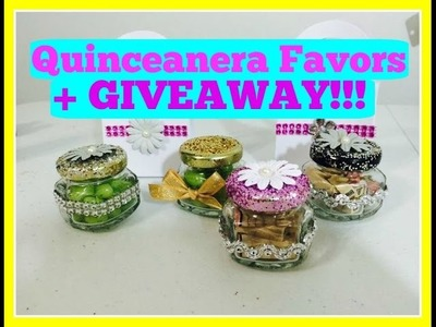 Quinceanera Easy Favors.Recuerdos DIY + GIVEAWAY!!!!  CLOSED