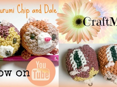 Rainbow Loom Loomigurumi Chip and Dale (Inspired By Tsum Tsum)