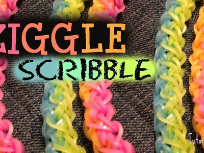 Rainbowloom Ziggle Scribble bracelet Tutorial