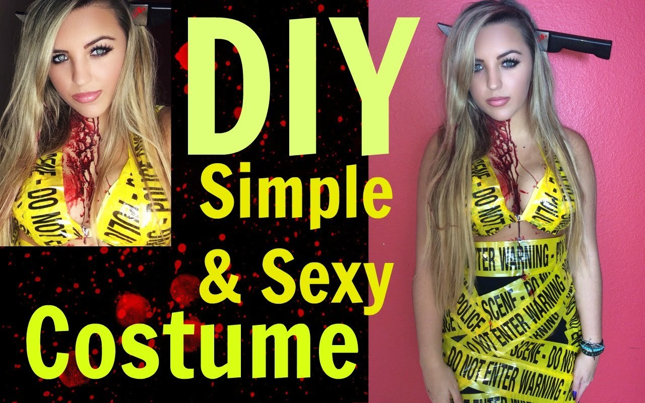 Sexy & Simple DIY Halloween Costume