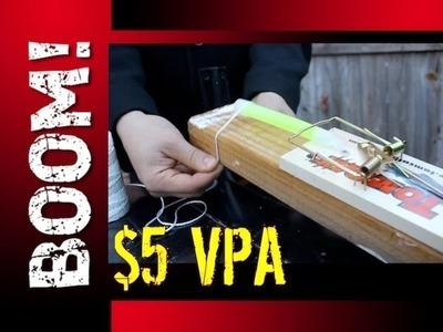 SIMPLE $5 VISUAL PERIMETER ALARM! - ZOMBIE SURVIVAL HACK!