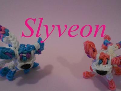 Slyveon Pokemon- Rainbow Loom Charms
