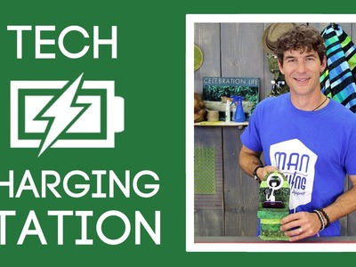 Tech Charging Station: Easy Sewing Tutorial with Rob Appell of Man Sewing