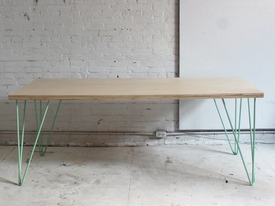 The Easy DIY Dining Table