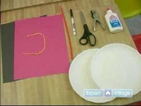 Toddler Activities & Crafts : Toddler Crafts: Paper Plate Snowman