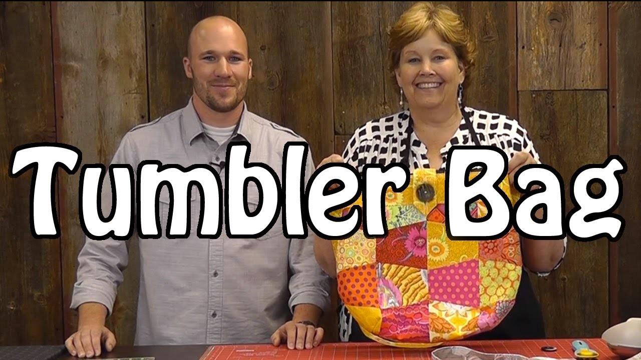 Tumbler Bag - Sew a Fun Purse with Charm Packs
