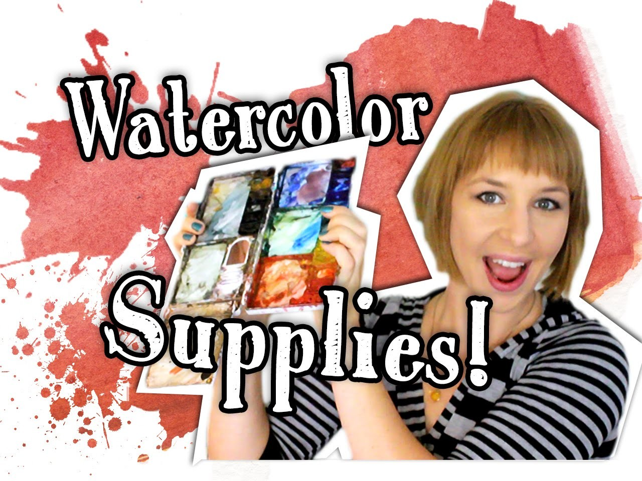 Watercolor Supplies! - HTA #5