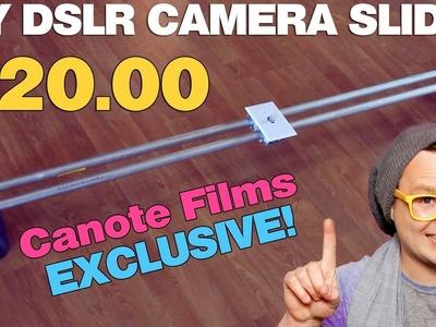$20 DIY Camera Slider!