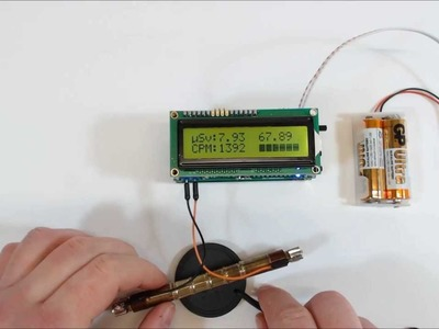 Arduino IDE DIY Geiger Counter Kit with eeprom logging or with SD Shield