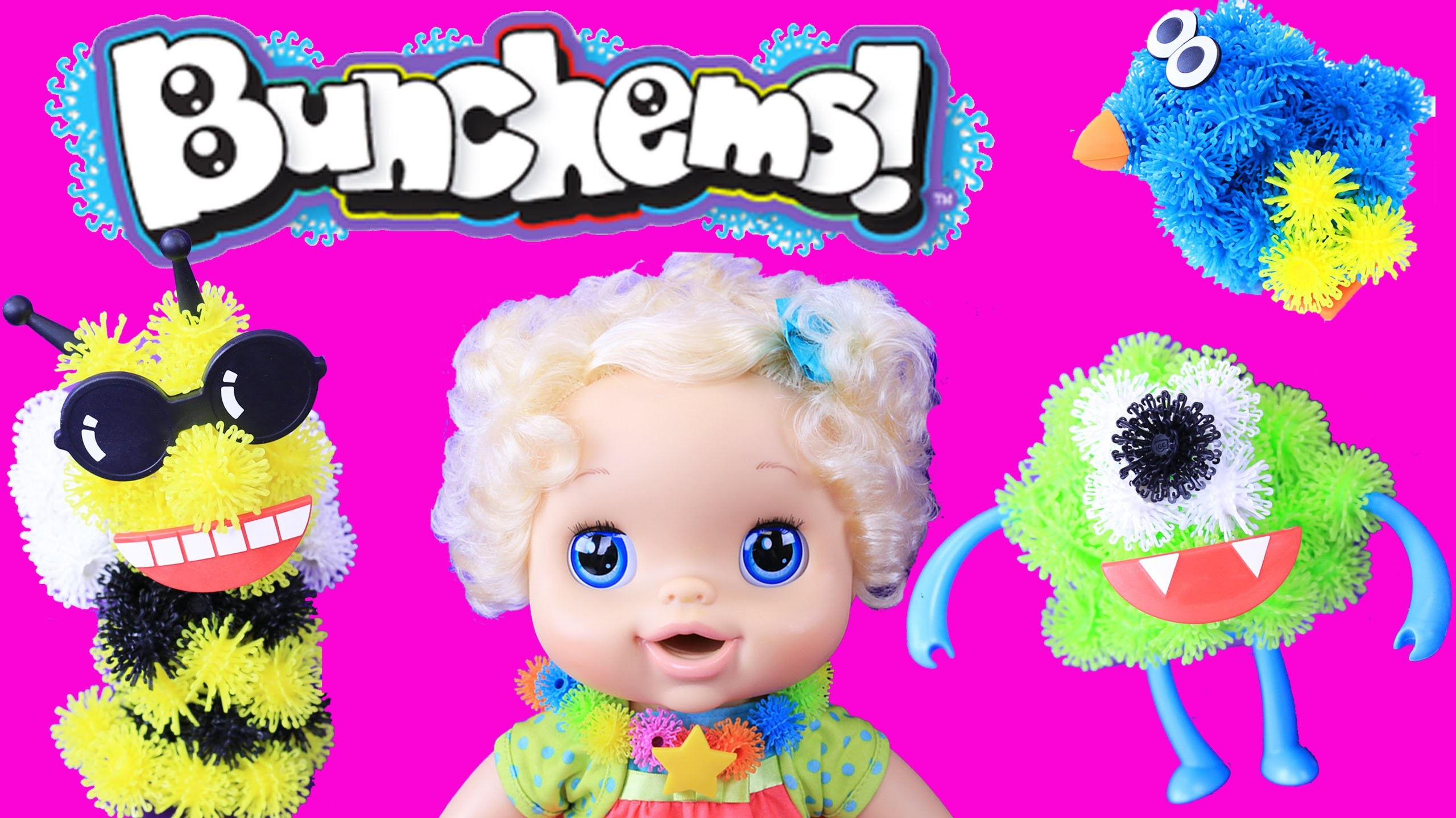 Bunchems MEGA 400 Pack DIY Baby Alive Jewelry, Animals, Pets & Disney Monsters Inc by DisneyCarToys