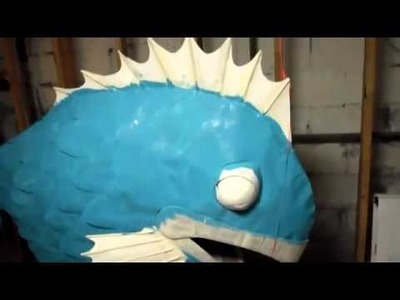 Coolest Homemade Killer Fish Halloween Costume -- Part III