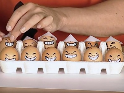 Crafts Ideas for Kids - Egg Faces | DIY on BoxYourSelf