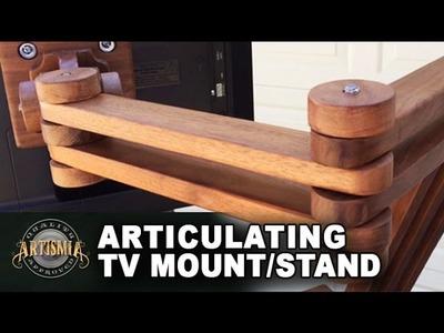 DIY Articulating TV Mount.Stand ~ Artismia ~ Wood Working