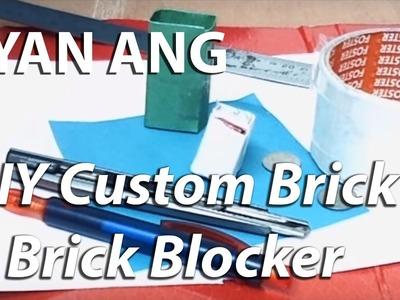 DIY Custom Brick & Brick Blocker for Homemade B daman Break Bomber Set