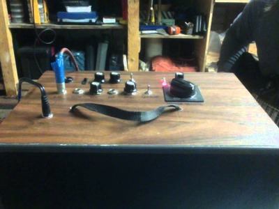 DIY Deacy style transistor guitar amplifier.