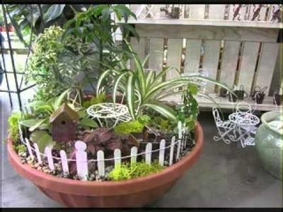DIY Decorating ideas for Fairy garden