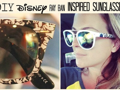 DIY Disney Sunglasses under $5.00!