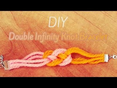 DIY: Double Infinity Knot Bracelet