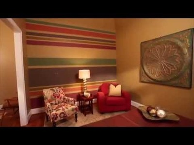 DIY Download - How to Paint Horizontal Stripes
