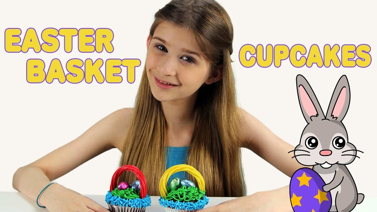 DIY Easter Basket Cupcakes!