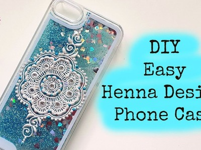DIY Easy Henna Design Phonecase | Henna Art by Aroosa