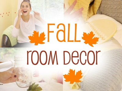Diy Fall Room Decor + Cheap Organization Ideas!