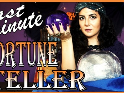 DIY Fortune Teller Crystal Ball - Last Minute Halloween
