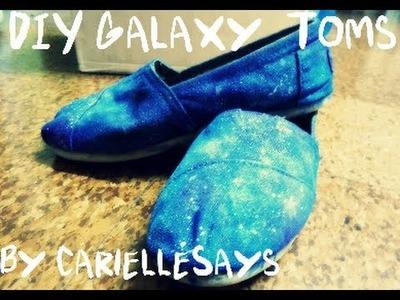 DIY Galaxy Print Toms